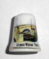 De A Coudre En Porcelaine Pont De Wilson Tours - Ditali Da Cucito
