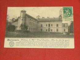 MORLANWELZ  - Château De Me Vital Cambier  (vu Du Côté Parc)   -  1914 - Morlanwelz