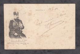 CPA - CONTREXEVILLE - Visite De Sa Majesté Le Shah De PERSE à L'Etablissement Hydrominéral - 1902 - Non Classés