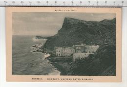 Agenda P. L. M. 1924 - Tunisie. Korbous - Anciens Bains Romains - Tunisie
