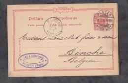 CPA De 1899 - PLAUEN I Vogtland - Maison LINZ & GRUNEWALD - Plauen