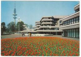 CPM Hambourg (Hamburg) Congress Centrum And Fernsehturm - Exposition Internationale D´horticulture (Gartenbau) IGA73 - Zonder Classificatie