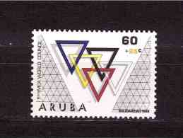 ARUBA 1988 Catholic Youth Congress Yvert Cat. N° 47  MINT NEVER HINGED - Christianity