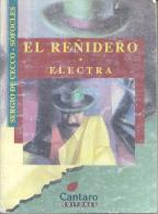 EL REÑIDERO SERGIO DE CECCO - ELECTRA SOFOCLES CANTARO EDITORES AÑO 1999 181 PAGINAS - Theatre