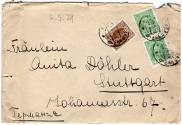 RUSSIA/RUSSIE-COVER FROM KHARKOV-UKRAINE TO GERMANY 1929/ITALIAN VICE CONSULATE - 1923-1991 URSS