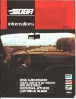 DBA Informations.Numéro 9. Janvier 1972 - Auto/Moto