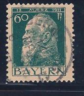 Bavaria, Scott # 84A Used Prince Luitpold, 1911 - Bavière