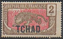 TCHAD 1922 Y&T 2 N* - Unused Stamps