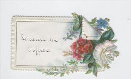 D�coupi 1880 Berlaymont Bruxelles autographe de I. Albrecht � Mathilde Deckers