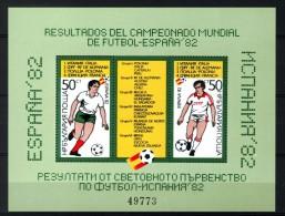 Bulgaria 1982, Sport - World Cup Championship Football - Soccer - FIFA **, MNH - World Cup