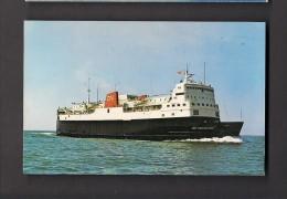 BATEAUX - SHIPS - FERRY - M.V.S. JOHN HAMILTON GREY - CAPE TORMENTINE NEW BRUNSWICK TO PORT BORDEN PEI - C.N.R. RAILWAYS - Ferries