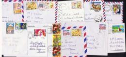 11 Lettres Et Cartes Pour La France   Affranchissements Variés - Tunisia