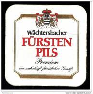 Bierdeckel  Wächtersbacher Fürsten Pils  -  Ein Wahrhaft Fürstlicher Genuß - Sous-bocks