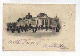 CPA 75 : PARIS  Exposition 1900    Le Petit Palais   1901  A  VOIR  !!!!!!! - Expositions