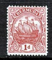 Bermuda 83   *  Type III  Wmk 4   1922-34 Issue - Bermuda