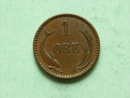 1902 - 1 ORE / KM 792.2 ( For Grade, Please See Photo ) !! - Danemark