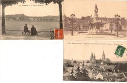 - LOT  DE  6  CPA  D ´EVREUX   - TTS  SCANNÉES - Cartoline