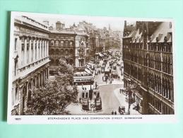 BIRMINGHAM, Stephenson's Place And Corporation Street - England