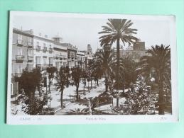 CADIZ - Plaza De MINA, Voir Affranchissement - Cádiz