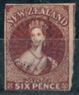 Nouvelle-Zélande - 1863 - Y&T N° 20, Oblitéré. Filigrane Etoile. - 1855-1907 Crown Colony