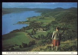 L5457 Inveraray And Loch Fyne - General View - Argyllshire