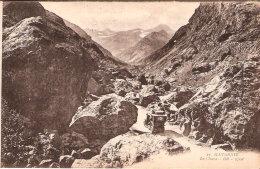 Gavarnie (65- Hautes-Pyrénées)-Le Chaos- Voiture Ancienne En Montagne-Oldtimer-Vintage Cars- CPA +/-1920 (Dos Vert) - Gavarnie