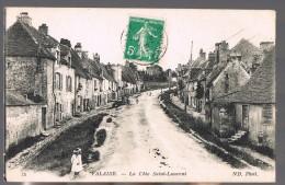 FALAISE . La Côte Saint-Laurent . - Falaise