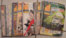Lot De 53 Spirou De 1987 Et 1988 - Spirou Magazine