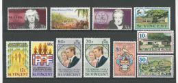 St Vincent : 335/ 341 + 345/ 348 ** - St.Vincent (1979-...)