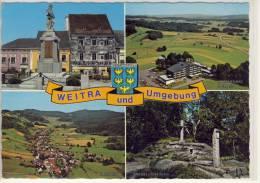 WEITRA Und Umgebung -  Mehrbildkarte - Weitra
