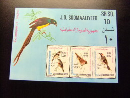 SOMALIE Somalia SOOMAALIYEED 1980 FAUNA - BIRDS - PAJAROS - OISEAUX Yvert Nº 9 ** MNH - Somalia (1960-...)