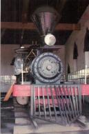 JAPON - Locomotice à Vapeur Dans Un Musée à SHIZUKA Détails Sur Le 2ème Scan - Trenes