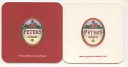 Peters Kölsch. In Der Tradition Von Peters & Bambeck. Www.peters-koelsch.de. - Portavasos