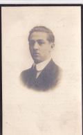 Doodsprentje    -    Edouard Van Rossum   Geb.te Ruisbroek 1900 -overleden Te Leuven 1922  (Student Leuven) - Images Religieuses