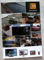 Carte Postale Automobile Publicitaire Renault World Series 2013 - Passenger Cars