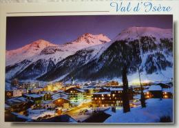 En Haute Tarentaise, VAL D'ISERE La Station De Nuit - Carte Postale Non écrite TTB - Val D'Isere
