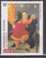 France - 2002 - Oeuvres D´ Art - Fernando Botero -  N° 3482  - Neuf ** - MNH - Non Classificati