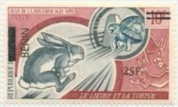 bn0842 Benin 2008 OVPT Rabbit Turtle