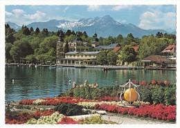 Velden Am Wörthersee - Hotel Schloss Velden Gegen Mittagskogel - Gelaufen 1975 - Velden