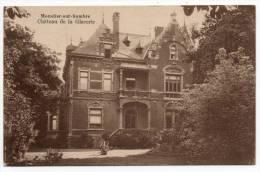 25058 -  Moustier-sur-Sambre  Château  De  La Glacerie - Jemeppe-sur-Sambre