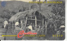 ANTIGUA & BARBUDA(GPT) - Arrowroot Production 1905, CN : 54CATA, Tirage 18500, Used - Antigua And Barbuda