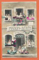 HA542, Maison Des Bébés, Aux Gros Poupons, 1202, Fantaisie, Non Circulée - Babies