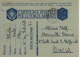388 SCAT.1 - FRANCHIGIA PER FF.AA. - 1941 - UNITO A VOI COME NON MAI..... - 1900-44 Vittorio Emanuele III