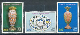 Türkei      Mi.Nr.   2357 - 2359   -     Postfrisch - 1921-... Republik