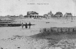 LE CROISIC PLAGE DU PORT-LIN CARTE TISSE - Le Croisic