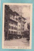 ALT  BASEL .  -  STADTHAUSGASSE -  BELLE CARTE   ANIMEE   - - BS Bâle-Ville