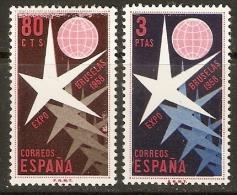 EXPOSICION DE BRUSELAS EDIFIL 1220/1** MNH - 1931-Today: 2nd Rep - ... Juan Carlos I
