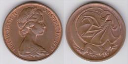 Australia - KM 63 - 2 Cents - 1970 - VF+ - Dezimale Münzen (1966-...)