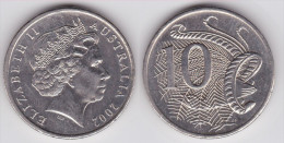Australia - KM 402 - 10 Cents - 2001 - VF+ - Dezimale Münzen (1966-...)