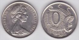 Australia - 10 Cents - 1975 - P 65 - VF - Dezimale Münzen (1966-...)
